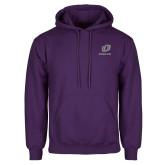 Purple Fleece Hoodie-UO