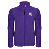 Fleece Full Zip Purple Jacket-Shield
