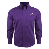 Red House Purple Long Sleeve Shirt-Eagles with Head