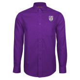 Red House Purple Long Sleeve Shirt-Shield