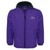 Purple Survivor Jacket-Eagles with Head