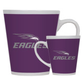 Full Color Latte Mug 12oz-Eagles with Head