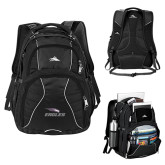 High Sierra Swerve Compu Backpack-Eagles with Head