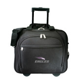 Embassy Plus Rolling Black Compu Brief-Eagles with Head