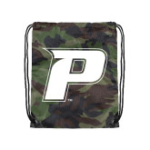 Camo Drawstring Backpack-P