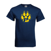 Navy T Shirt-Paw