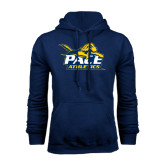 Navy Fleece Hoodie-Official Logo