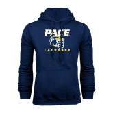 Navy Fleece Hood-Lacrosse Design