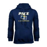 Navy Fleece Hoodie-Lacrosse Design