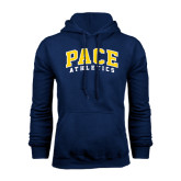 Navy Fleece Hoodie-Arched Pace Athletics