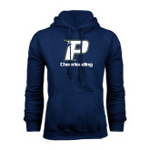 Navy Fleece Hoodie-Cheerleading