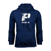 Navy Fleece Hood-Alumni