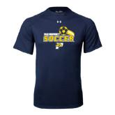 Under Armour Navy Tech Tee-Soccer Swoosh