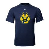 Under Armour Navy Tech Tee-Paw