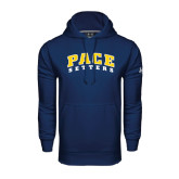 Under Armour Navy Performance Sweats Team Hood-Arched Pace Setters