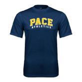 Performance Navy Tee-Arched Pace Athletics
