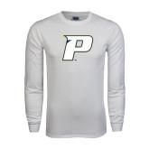 White Long Sleeve T Shirt-P
