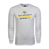 White Long Sleeve T Shirt-Can You Dig It Volleyball