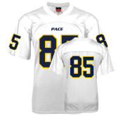 Replica White Adult Football Jersey-#85