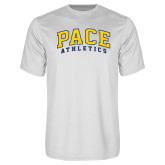 Performance White Tee-Arched Pace Athletics