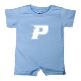 Light Blue Infant Romper-P