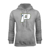 Grey Fleece Hood-P