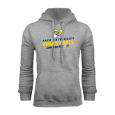 Grey Fleece Hoodie-Can You Dig It Volleyball
