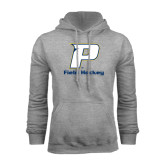 Grey Fleece Hood-Field Hockey