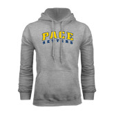 Grey Fleece Hoodie-Arched Pace Setters