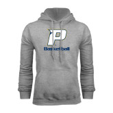 Grey Fleece Hoodie-Basketball