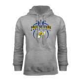 Grey Fleece Hood-Graphics in Basketball