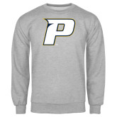 Grey Fleece Crew-P