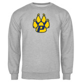 Grey Fleece Crew-Paw