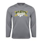 Performance Steel Longsleeve Shirt-Baseball Design