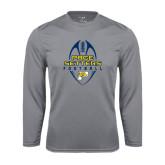 Performance Steel Longsleeve Shirt-Tall Football Design