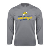 Performance Steel Longsleeve Shirt-Can You Dig It Volleyball
