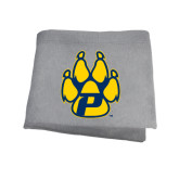 Grey Sweatshirt Blanket-Paw