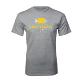 Grey T Shirt-Cross Country