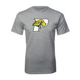 Grey T Shirt-P w/T-Bone