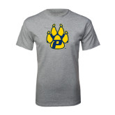 Grey T Shirt-Paw