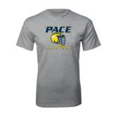 Grey T Shirt-Lacrosse Design