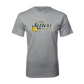 Grey T Shirt-Softball Design