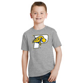 Youth Grey T-Shirt-P w/T-Bone