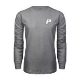 Grey Long Sleeve T-Shirt-P