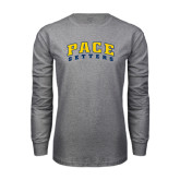 Grey Long Sleeve T-Shirt-Arched Pace Setters