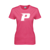 Ladies Fuchsia T Shirt-P