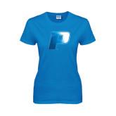 Ladies Sapphire T Shirt-P Foil