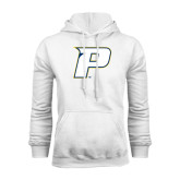 White Fleece Hood-P