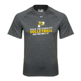 Under Armour Carbon Heather Tech Tee-Can You Dig It Volleyball
