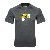 Under Armour Carbon Heather Tech Tee-P w/T-Bone